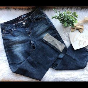 Tommy Hilfiger Spirit Crop Cuffed Denim Jeans 2